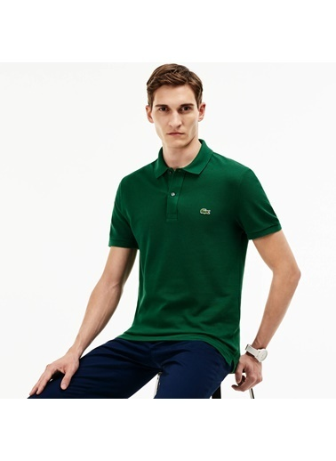 Lacoste Polo Yaka Tişört Yeşil